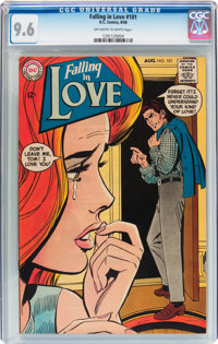 Falling in Love #101 (DC, 1968) CGC NM+ 9.6 Off-white to white pages