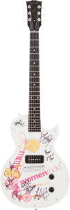 "Music Memorabilia:Autographs and Signed Items, 2004 5th Annual ""Women Rock!"" Limited Autographed Guitar...."