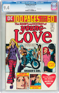 Bronze Age (1970-1979):Romance, Young Love #110 (DC, 1974) CGC NM 9.4 Off-white to white pages....