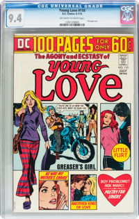 Young Love #110 (DC, 1974) CGC NM 9.4 Off-white to white pages