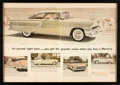 Books:Prints & Leaves, [Advertising, Automobiles]. Framed Double-Page Mercury Montclair Advertisement. [N.d., circa 1955]. ...