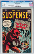 Silver Age (1956-1969):Horror, Tales of Suspense #24 (Marvel, 1961) CGC FN/VF 7.0 Off-whitepages....
