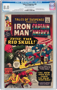Tales of Suspense #65 (Marvel, 1965) CGC VF 8.0 Cream to off-white pages