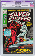 Bronze Age (1970-1979):Superhero, The Silver Surfer #16 (Marvel, 1970) CGC Apparent NM 9.4 Slight (C-1) Off-white to white pages....