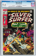 Silver Age (1956-1969):Superhero, The Silver Surfer #9 (Marvel, 1969) CGC NM+ 9.6 Off-white to white pages....