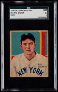 Baseball Cards:Singles (1930-1939), 1934-36 Diamond Stars Bill Dickey #11 SGC 60 EX 5....