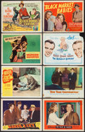 """Movie Posters:Crime, Naked City & Others Lot (DCA, R-1956). Lobby Cards (Approx.450) (11"""" X 14""""). Crime.. ... (Total: 450 Items)"""
