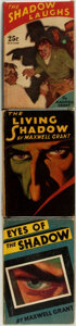 Books:Mystery & Detective Fiction, [Featured Lot]. Maxwell Grant. Group of Three First Edition Shadow Titles. New York: Street and Smith Publications, [1931]. ... (Total: 3 Items)