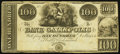 Obsoletes By State:Ohio, Gallipolis, OH- Bank of Gallipolis $100 Remainder G10 Wolka1171-16. ...