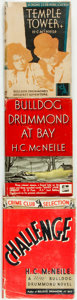Books:Mystery & Detective Fiction, [Featured Lot]. H. C. McNeile. Group of Three Bulldog Drummond Crime Club Selections. Garden City: The Crime Club, 1929-1937... (Total: 3 Items)