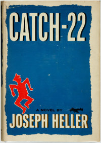 [Featured Lot]. Joseph Heller. Catch-22. New York: Simon and Schuster, 1961