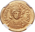 Ancients:Byzantine, Ancients: Anastasius I (AD 491-518). AV solidus (21mm, 4.45 gm,7h)....