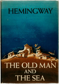 [Featured Lot]. Ernest Hemingway. The Old Man and the Sea. New York: Charles Scribn