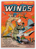 Golden Age (1938-1955):War, Wings Comics #11 (Fiction House, 1941) Condition: VG+....