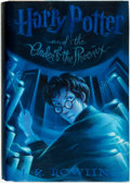 Books:Children's Books, J. K. Rowling. Mary Grandpré, illustrator. Harry Potter and theOrder of the Phoenix. New York: Scholastic Press, [2...