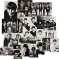 Music Memorabilia:Photos, A Group of Seventeen Vintage Glossy Beatles Photographs by Brel,Valex, Starpics, and Topstar (UK, 1963). ...