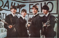 Music Memorabilia:Posters, A Group of Four Early Beatles Posters (1960s).... (Total: 4 Items)
