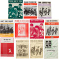 Music Memorabilia:Sheet Music, Beatles Vintage Sheet Music Collection (Eleven Pieces) (UK, US, & Germany, 1960s)....
