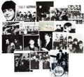 Music Memorabilia:Photos, A Group of Eighteen Beatles Photographs, circa 1964....