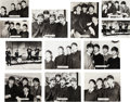 Music Memorabilia:Photos, Twelve Rare Beatles Photo Cards by Brel (UK, 1963)....