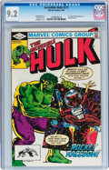Modern Age (1980-Present):Superhero, The Incredible Hulk #271 (Marvel, 1982) CGC NM- 9.2....