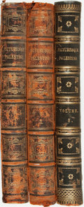 Books:Travels & Voyages, Colonel Sir Charles W. Wilson. Picturesque Palestine: Sinai and Egypt. London: J. S. Virtue and Co., Limited, [n... (Total: 3 Items)