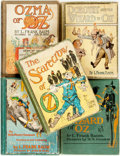 Books:Children's Books, Frank L. Baum. Group of Five Reprint Edition OZ Books.Various publishers and dates. ... (Total: 5 Items)