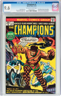 Bronze Age (1970-1979):Superhero, The Champions #1 (Marvel, 1975) CGC NM+ 9.6 Off-white to white pages....