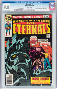 The Eternals #1 (Marvel, 1976) CGC NM/MT 9.8 White pages