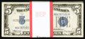 Small Size:Silver Certificates, Fr. 1651 $5 1934A Silver Certificates. Pack of 100.. ... (Total: 100 notes)