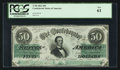 Confederate Notes:1862 Issues, T50 $50 1862 PF-4 Cr. 351.. ...