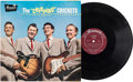 Music Memorabilia:Recordings, Buddy Holly and The Crickets The Chirping Crickets LP(Brunswick 54038, 1957)....