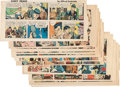 Memorabilia:Comic-Related, Sunday Comic Strip Clipping Group (1960-63).... (Total: 122 Items)