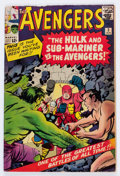 Silver Age (1956-1969):Superhero, The Avengers #3 (Marvel, 1964) Condition: VG....