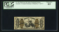 Fractional Currency:Third Issue, Fr. 1363 50¢ Third Issue Justice PCGS Choice New 63.. ...