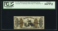 Fractional Currency:Third Issue, Fr. 1373 50¢ Third Issue Justice PCGS Gem New 66PPQ.. ...