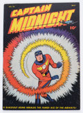 Golden Age (1938-1955):Superhero, Captain Midnight #40 (Fawcett Publications, 1946) Condition: VF....
