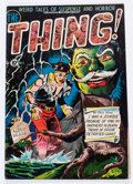 Golden Age (1938-1955):Horror, The Thing! #4 (Charlton, 1952) Condition: FN+....