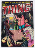 Golden Age (1938-1955):Horror, The Thing! #5 (Charlton, 1952) Condition: FN-....