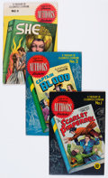 Golden Age (1938-1955):Classics Illustrated, Stories by Famous Authors Illustrated #1-5 Group (Seaboard Pub.,1950) Condition: Average FN+.... (Total: 5 Comic Books)