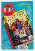 Golden Age (1938-1955):Classics Illustrated, Stories by Famous Authors Illustrated #6 Macbeth (Seaboard Pub., 1950) Condition: VF....