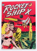 Golden Age (1938-1955):Science Fiction, Rocket Ship X #1 (Fox, 1951) Condition: FR/GD....