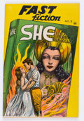 Golden Age (1938-1955):Classics Illustrated, Fast Fiction #3 She (Seaboard Pub., 1949) Condition: VF....