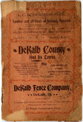 Miscellaneous:Booklets, [Illinois, Business Directory]. Dekalb County and Its Towns. [N.p., n.d., circa 1897]....