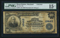 National Bank Notes:Maryland, Mount Rainier, MD - $10 1902 Plain Back Fr. 635 The First NB Ch. #12443. ...