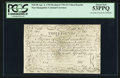 Colonial Notes:New Hampshire, Cohen Reprint New Hampshire April 3, 1755 Redated June 1, 1756 £3PCGS About New 53PPQ.. ...