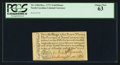 Colonial Notes:North Carolina, North Carolina December, 1771 2s6d House PCGS Choice New 63.. ...