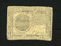 Colonial Notes:Continental Congress Issues, Continental Currency February 26, 1777 $7 Very Fine-Extremely Fine.A lovely example for the grade from this tougher Baltimo...