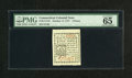 Colonial Notes:Connecticut, Connecticut October 11, 1777 4d Very Choice New....
