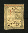 Colonial Notes:Pennsylvania, Pennsylvania October 1, 1773 20s Choice About New. A single centerfold is found on this very crisp and well signed note....